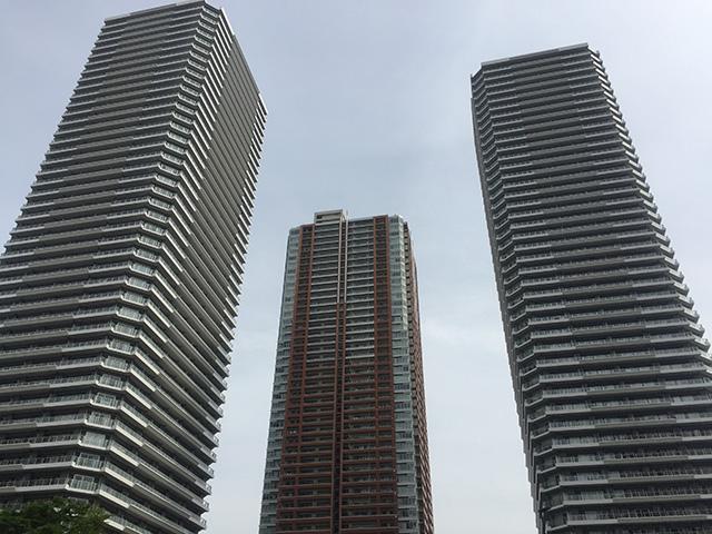 三井不動産レジデンシャルのパークシティ3棟