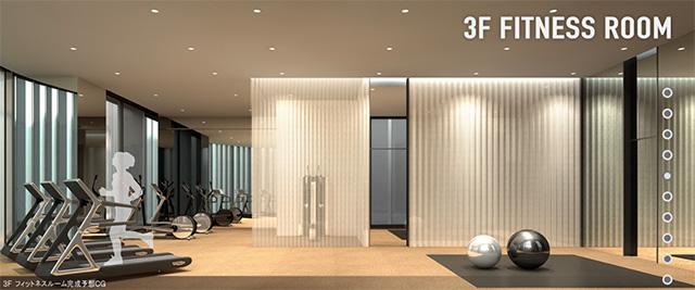 3階フィットネスルーム