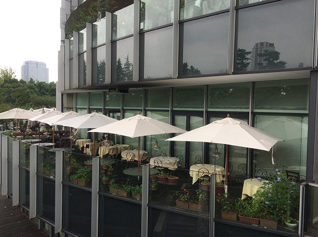 東京ミッドタウンのカフェ